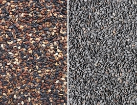 black sesame sorting